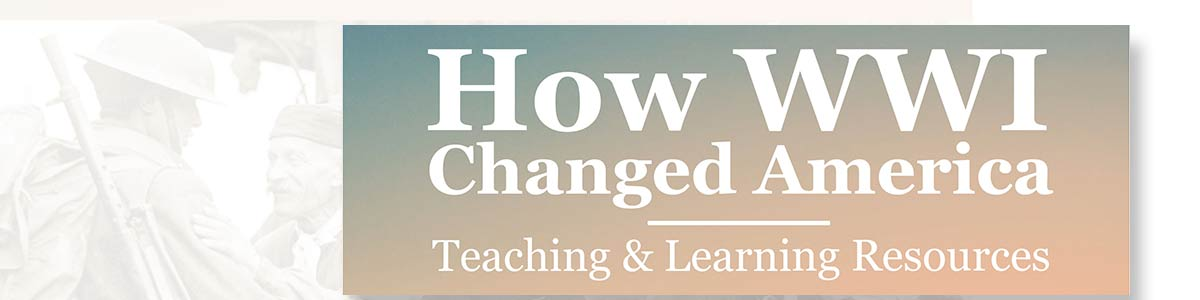 How WWI Changed America Teaching and Learning Resources logo